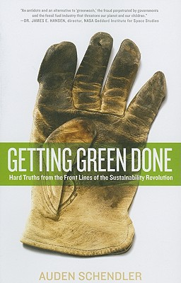 Getting Green Done By Schendler, Auden
